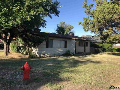 Red Bluff Single Family Home For Sale: 158 Encinal Drive