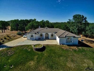 Red Bluff Single Family Home For Sale: 17900 Hwy 36 W