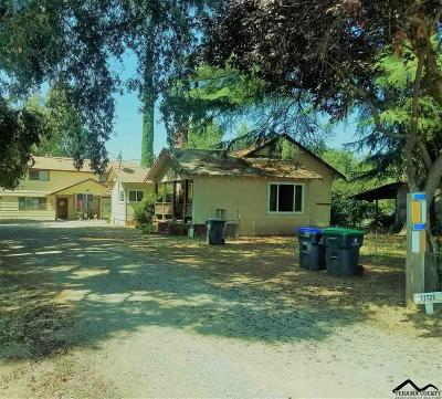 Red Bluff Single Family Home For Sale: 11719 State Highway 99 E