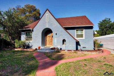 Red Bluff Single Family Home For Sale: 1244 Lincoln Street