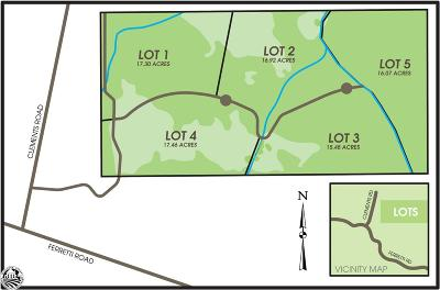 Groveland Residential Lots & Land For Sale: Parcel 11-1 Long Gulch