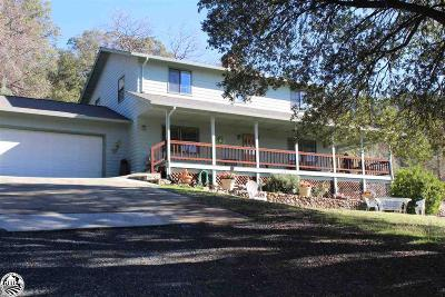 Tuoloumne, Tuolumne Single Family Home For Sale: 21425 Wetumka #6.20 Acr