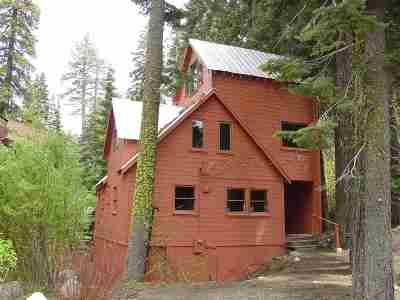 Truckee CA Single Family Home For Sale: $749,000
