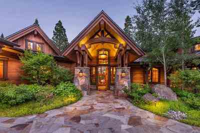 Truckee Single Family Home For Sale: 8330 Valhalla Drive