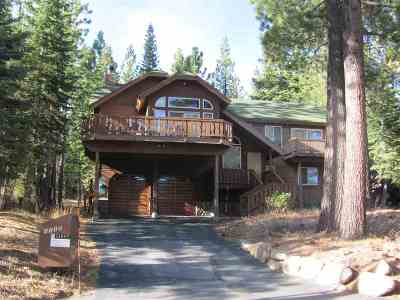 Tahoe City Single Family Home For Sale: 1115 Big Pine Drive