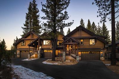 Truckee, Soda Springs, Carnelian Bay, Olympic Valley Condo/Townhouse Contingent: 10251 Annies Loop #A1