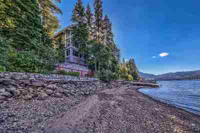 Donner Lake Single Family Home Contingent: 14060 South Shore Drive