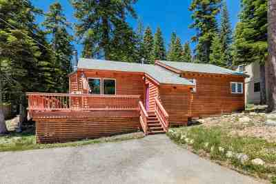 Tahoe City Single Family Home For Sale: 135 Talmont Circle