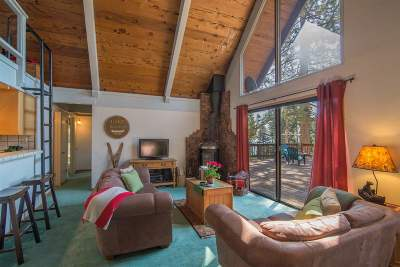Tahoe City Single Family Home For Sale: 885 Snowshoe Road
