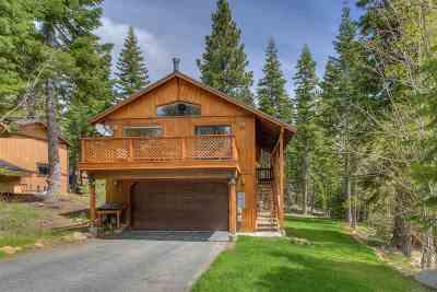 Tahoe City Single Family Home For Sale: 1240 Big Pine Drive