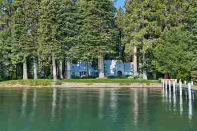 Tahoe City Single Family Home For Sale: 2340 Sunnyside Lane