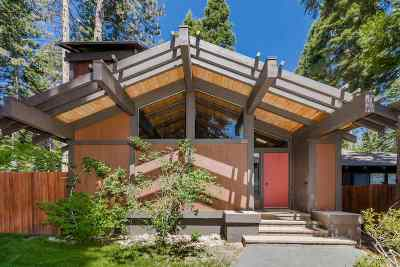 Tahoe City Condo/Townhouse For Sale: 3600 North Lake Boulevard #60