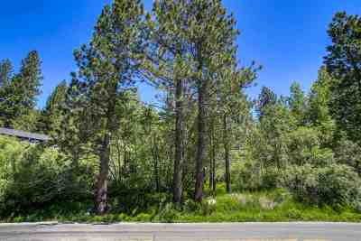 Donner Lake Residential Lots & Land For Sale: 13794 Donner Pass Road