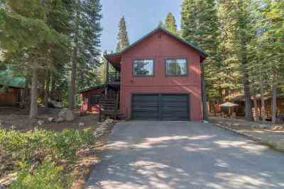 Truckee, Soda Springs, Carnelian Bay, Olympic Valley Single Family Home For Sale: 11998 Schussing Way