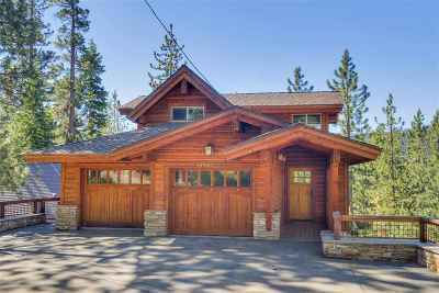 Truckee CA Single Family Home For Sale: $895,000