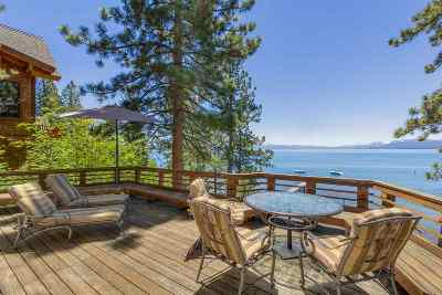 Tahoe City Single Family Home For Sale: 3212 Edgewater Drive