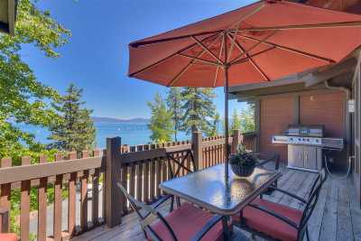 Tahoe City Condo/Townhouse For Sale: 300 West Lake Boulevard #110