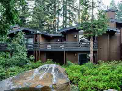 Tahoe City Condo/Townhouse For Sale: 1877 North Lake Boulevard #58
