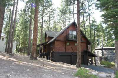 Truckee, Soda Springs, Carnelian Bay, Olympic Valley Single Family Home For Sale: 1614 Deer Path