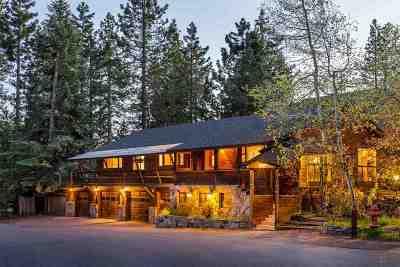 Tahoe City, Tahoe Vista, Carnelian Bay Single Family Home Contingent: 796 Birch Avenue