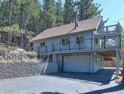 Truckee Single Family Home For Sale: 12410 Richards Boulevard