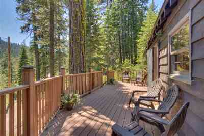 Tahoe City Single Family Home For Sale: 358 Twin Crags Road
