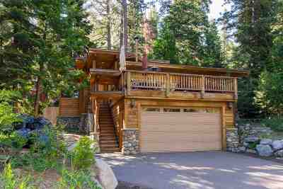 Tahoe City Single Family Home For Sale: 1425 West Lake Boulevard