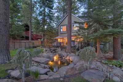 Tahoe City Single Family Home For Sale: 145 Observation Drive