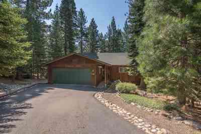 Truckee Single Family Home For Sale: 11897 Rainbow Drive