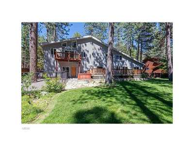 Incline Village Single Family Home Contingent: 1081 Mill Creek Road