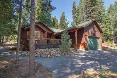 Truckee, Soda Springs, Carnelian Bay, Olympic Valley Single Family Home For Sale: 16621 Northwoods Boulevard