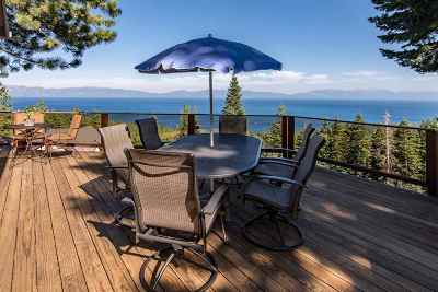 Tahoe City Single Family Home For Sale: 1122 Clearview Court