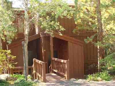 Tahoe City Condo/Townhouse For Sale: 125 Lassen Drive #28