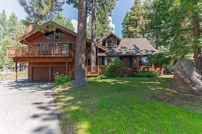 Tahoe City CA Single Family Home For Sale: $790,000