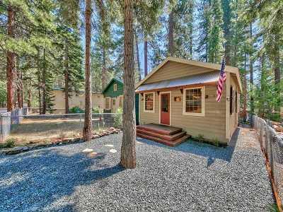 Kings Beach Single Family Home For Sale: 8376 Rainbow Avenue