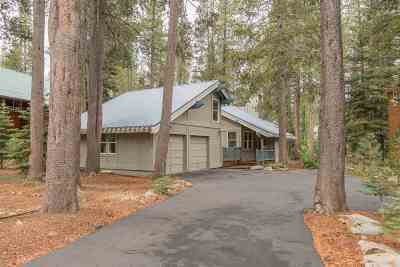 Truckee Single Family Home Contingent: 12252 Oslo Drive