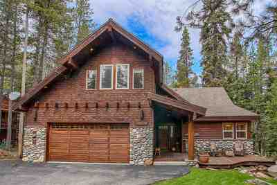 Truckee Single Family Home For Sale: 15187 Swiss Lane