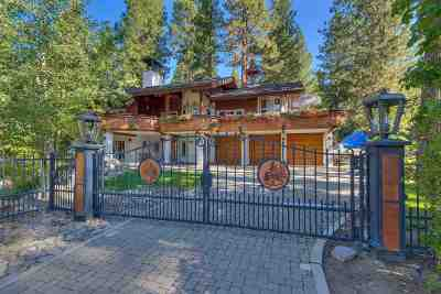 Incline Village Single Family Home For Sale: 886 Freels Peak Drive