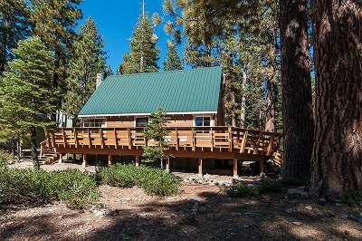 Truckee, Soda Springs, Carnelian Bay, Olympic Valley Single Family Home For Sale: 550 Tunnington Drive