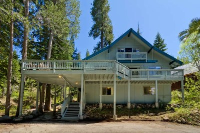 Truckee Single Family Home For Sale: 14785 South Shore Drive