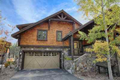 Truckee, Soda Springs, Carnelian Bay, Olympic Valley Condo/Townhouse For Sale: 10201 Annies Loop