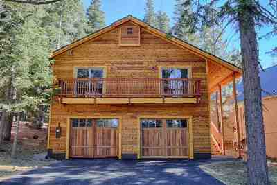 Truckee, Soda Springs, Carnelian Bay, Olympic Valley Single Family Home For Sale: 11511 Sitzmark Way
