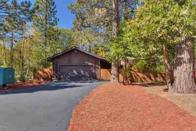 Tahoe City Single Family Home Contingent: 140 Bearing Drive