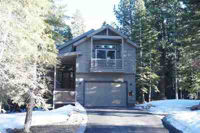 Truckee, Soda Springs, Carnelian Bay, Olympic Valley Single Family Home For Sale: 15765 Northwoods Boulevard