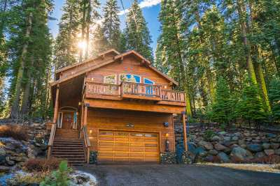 Truckee, Soda Springs, Carnelian Bay, Olympic Valley Single Family Home For Sale: 14065 Hansel Avenue
