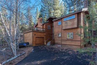 Truckee, Soda Springs, Carnelian Bay, Olympic Valley Single Family Home For Sale: 284 Basque