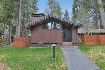 Tahoe City Condo/Townhouse For Sale: 3600 North Lake Boulevard #59