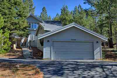 Truckee, Soda Springs, Carnelian Bay, Olympic Valley Single Family Home For Sale: 15398 Alder Creek Road