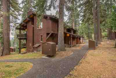 Tahoe City Condo/Townhouse For Sale: 1200 West Lake Boulevard #2
