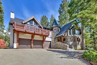 Tahoe City CA Single Family Home For Sale: $2,000,000